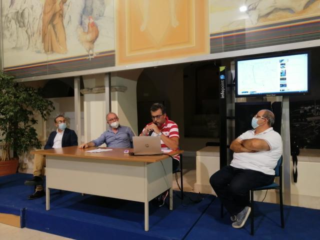 Presentazione del P.e.b.a. nel chiostro comunale di San Giovanni Rotondo