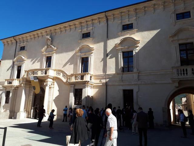 L'Aquila per due giorni capitale del jazz ammira il rinato palazzo Ardinghelli