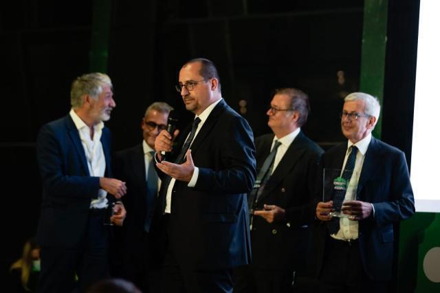 """Rendina ambiente premiata da fise assoambiente nel corso del """"Pimby green"""