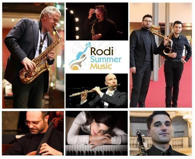 Riparte il Rodi Summer Music: dall'1 al 5 corsi e cinque concerti serali
