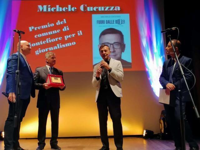 Michele Cucuzza premiato due volte a Montefiore della X Edizione 2020