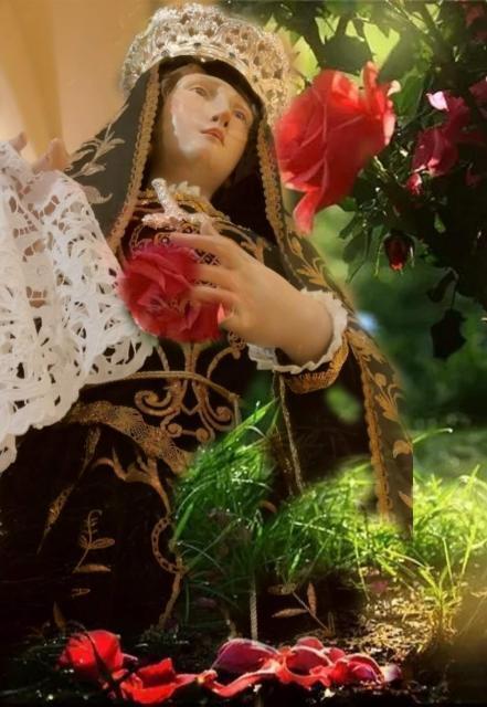 "Maria, la ""maestra"" del perdono"