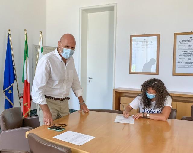 Firmati al Policlinico di Bari i primi contratti di assunzione dei nuovi Operatori socio-sanitari