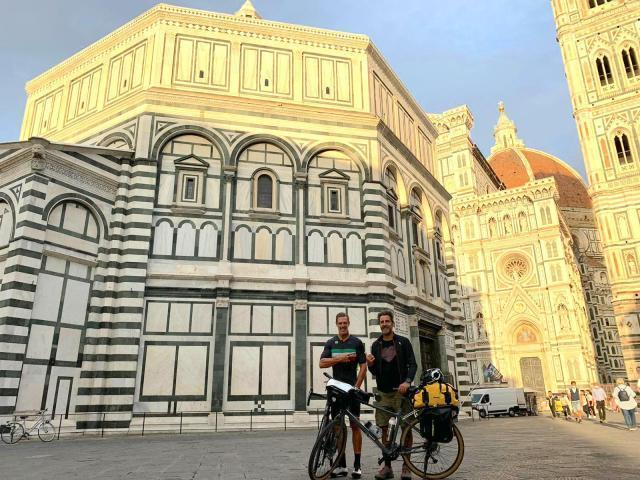 Massimo Temporelli in F***ing Genius book bike tour