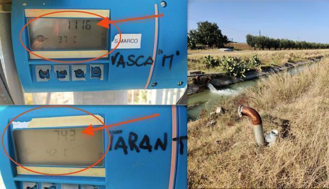 Dalla diga di San Giuliano 1116 litri al secondo a Matera, soltanto 743 litri al secondo a Taranto
