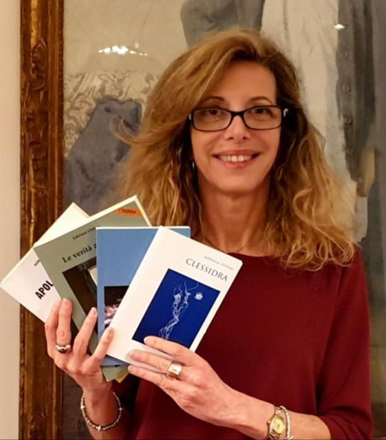 """Presentazione libro """"Clessidra"""" di Adriana Ostuni"""