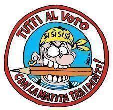 Andiamo a votare: è un'occasione da non perdere