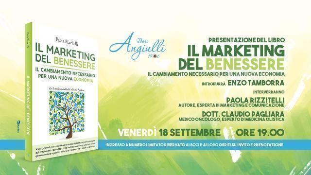 """L'Angiulli Bari presenta """"Il marketing del benessere"""""""