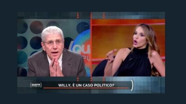 """Caso Willy, Giordano vs Manfuso: """"Campagna schifosa della sinistra"""""""