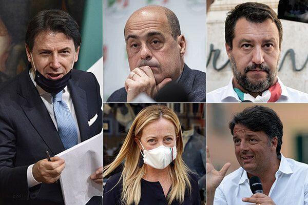 Cinque personaggi politici in cerca d' autore importante