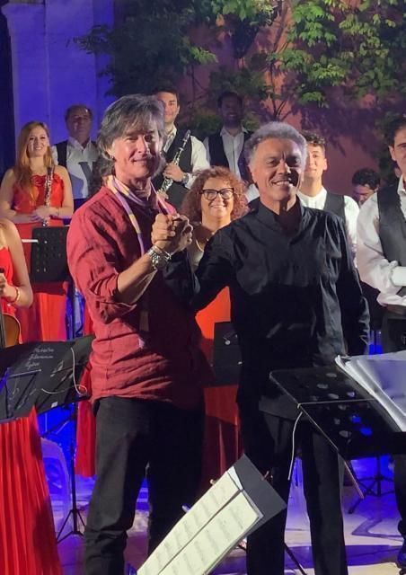 Ronn Moss e l'Orchestra Filarmonica Pugliese per una serata glamour