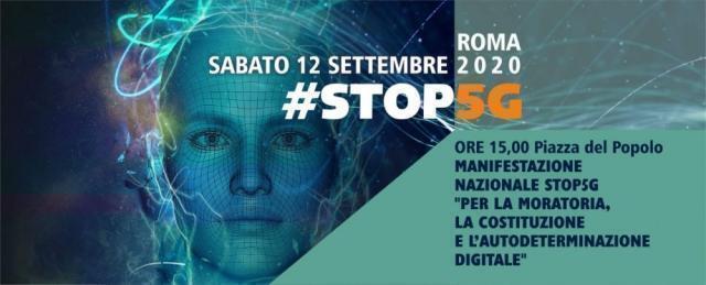 Manifestazione di piazza a Roma per correggere il Governo sul 5G