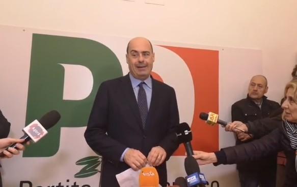 """Zingaretti: """"troppe lentezze e divisioni nel governo, serve una visione unitaria"""""""