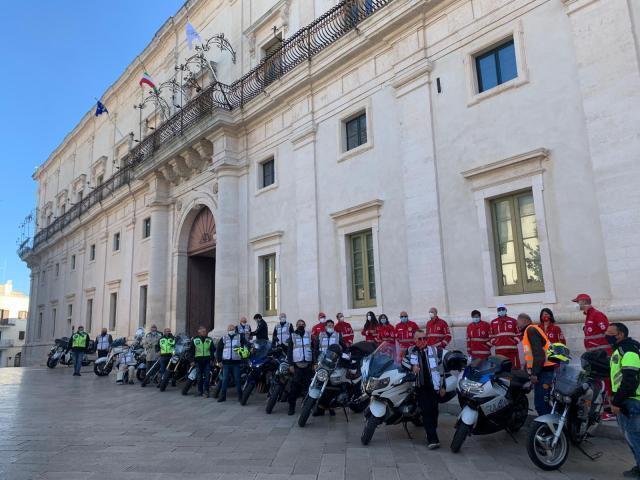 """A Martina Franca sono arrivati i motociclisti di """"Dico NO alla droga"""""""