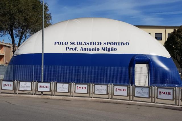 Inaugurazione del polo scolastico sportivo prof. Antonio Miglio a San Severo