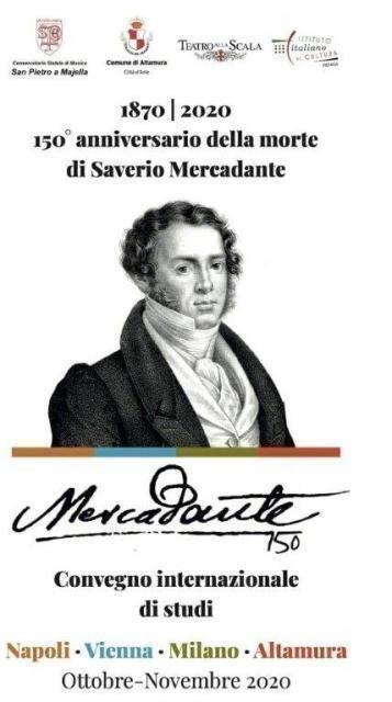 Altamura celebra il suo illustre figlio Saverio Mercadante insieme a Napoli, Milano e Vienna