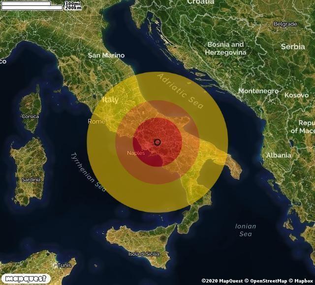 Terremoto in provincia di Benevento