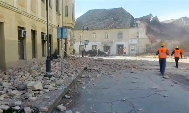 InCroazia c'é stato un terremoto 4 volte più 'energetico' di quello di Amatrice