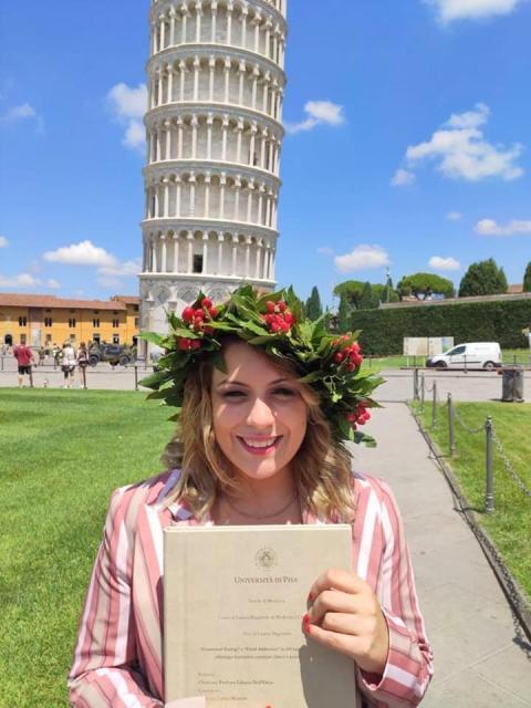 Ragazze di talento che onorano la Calabria. Miriam Violi, medico,in prima linea in Toscana contro il Covid