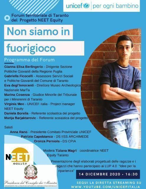 Forum Taranto Neet Equity
