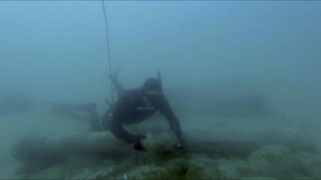 Agrigento : ritrovato in mare un cannone del tardo XVI secolo