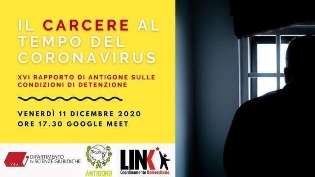 Antigone Puglia. Presentazione Rapporto condizioni di detenzione appello al Governo