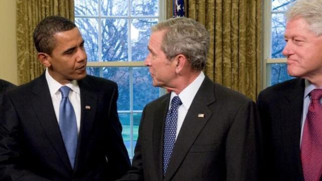 Covid. Gli ex presidenti Obama, Bush e Clinton si offrono volontari per fare il vaccino