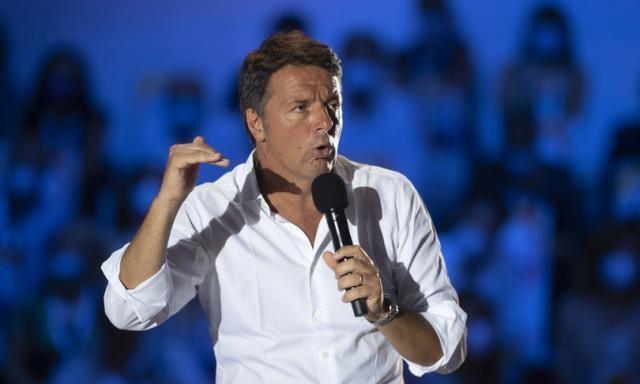 """""""Conte non può essere il leader dei riformisti"""", secondo Renzi"""