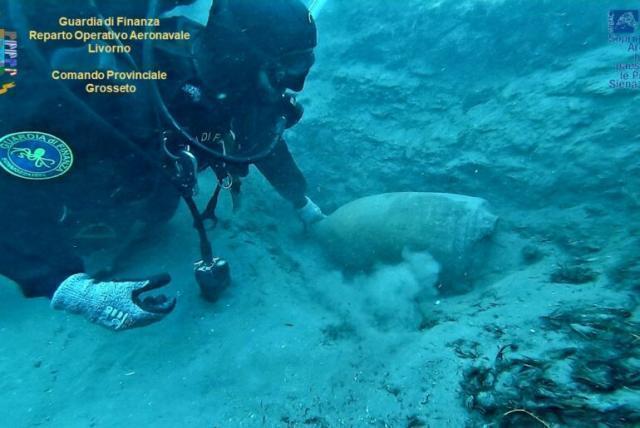 In mare scoperto relitto nave romana