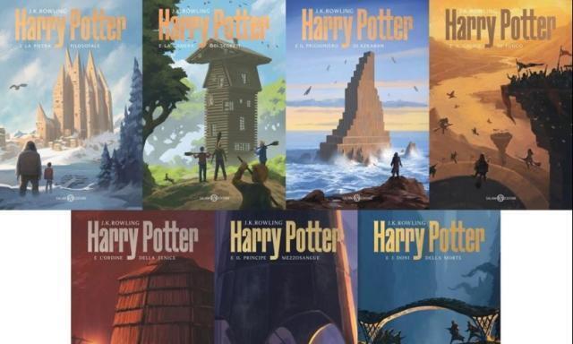 L' italiano Michele De Lucchi firma le nuove copertine dei libri di Harry Potter