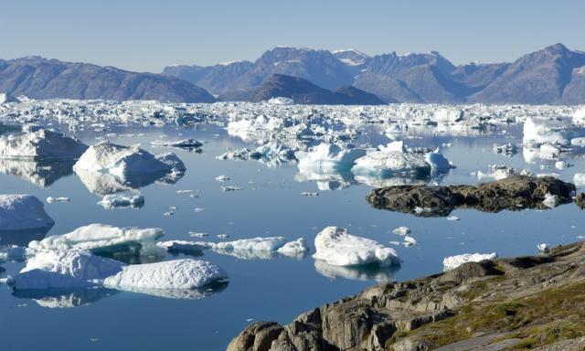 Come una lastra di ghiaccio spessa 100 metri che copre l'intero Regno Unito