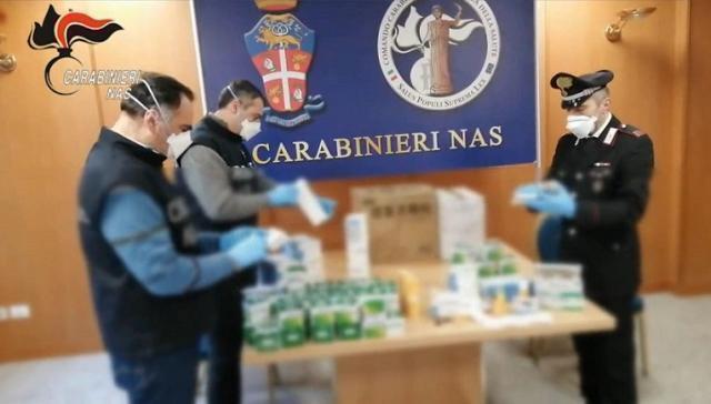 NAS scoprono attività illegali di vendita farmaci cinesi per la cura del Covid