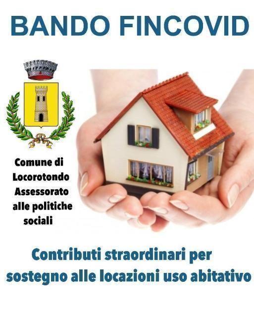FINCOVID: Contributi a sostegno delle locazioni in favore delle famiglie