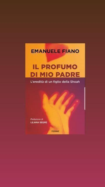 """""""Il profumo di mio padre""""di Emanuele Fiano"""