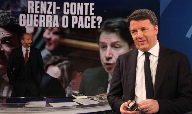 """""""Conte cerca voti in Senato. Spero cerchi anche vaccini…"""", dice Renzi"""