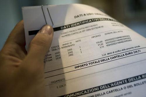 Fisco: in arrivo 50 milioni di cartelle