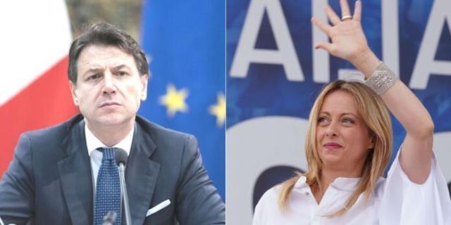 """Meloni: """"Oltre 100mila italiani hanno firmato la petizione per sfiduciare il Governo Conte"""""""