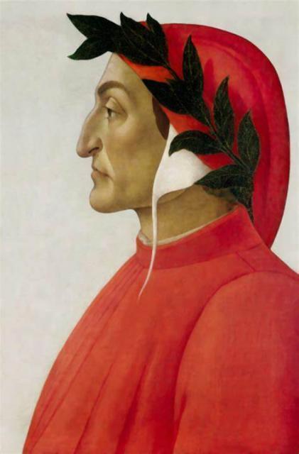2021 l'anno di Dante; la crusca pubblica ogni giorno una sua parola