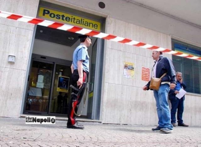 Rapina alle poste in Puglia, ferita una guardia giurata