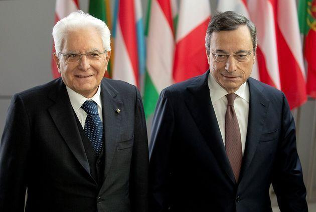 """Mattarella  lancia il Governo di """"alto profilo e nessun colore politico"""" e convoca Dragh"""