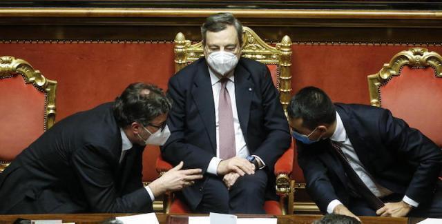 Il governo Draghi ottiene la fiducia anche alla Camera con 535 sì