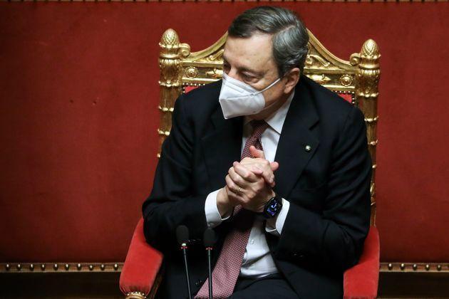 """Monito di Draghi: """"Tutte le istituzioni collaborino per la rinascita"""""""