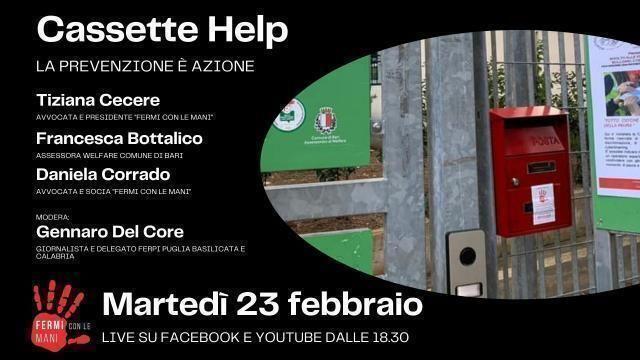 """Fermi con le mani: evento online per presentare il progetto """"Cassette Help"""""""