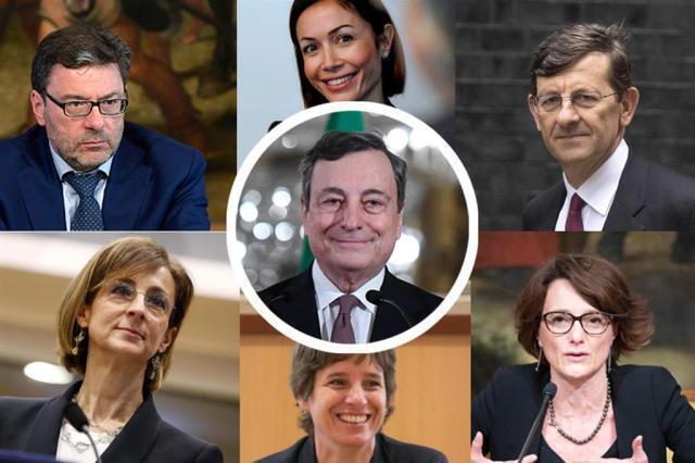 L'età media dei ministri sale a 54 anni. Una squadra a trazione nordista