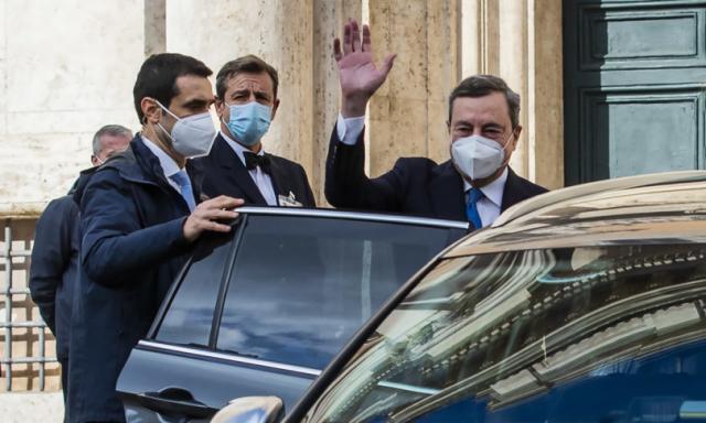"""I big dei partiti alla Camera in coro: """"Fiducia in Draghi"""""""