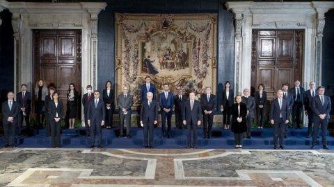 Il governo neo-democristiano di Mario Draghi