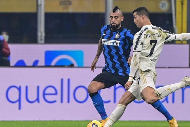 La Juve batte l'Inter 2-1 nell'andata delle semifinali di Coppa Italia