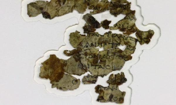 In Israele trovati frammenti di un rotolo biblico di 2 mila anni fa