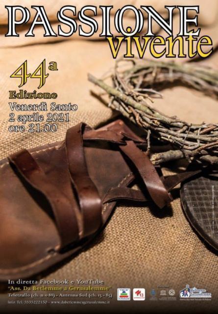 Passione Vivente, la 44ma edizione sarà in streaming