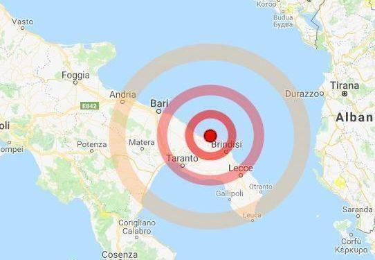 Terremoto nell'Adriatico centrale